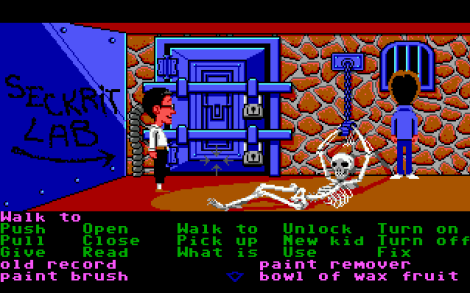 Maniac Mansion Screen 4