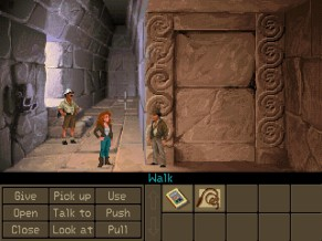 Indiana Jones and the Fate of Atlantis Screen 3