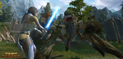 Star Wars; The Old Republic Screen 1