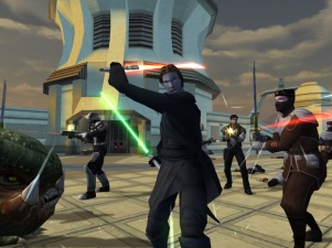 Star Wars Knights of the Old Republic II Screen 2