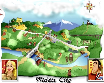 The Secret of Middle City Screen 5