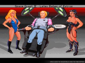 Space Quest IV Screen 3