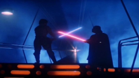 Luke Skywalker VS Darth Vade